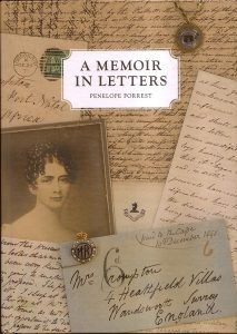 Front cover - A Memoir in Letters